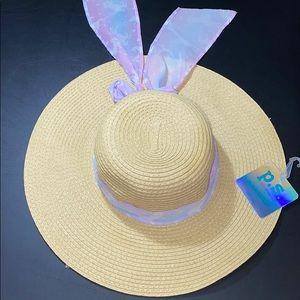 Aeropostale Straw Floppy Hat